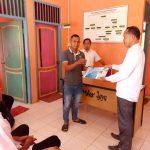 Kepala Desa Mekar Jaya Serahkan Mobil Minibus, Bantuan dari Dinas Perhubungan Natuna Kepada BUMDes Makmur Jaya