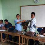 Serah terima jabatan Kepala MTs Miftahunnajah Mekar Jaya