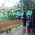 Babinsa Desa Mekar Jaya Jadi Pembina Upacara di MTs Miftahunnajah Mekar Jaya