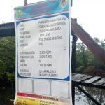 Melalui Anggaran Desa, Pemdes Mekar Jaya Suport Program Pokdarwis Aiba Membangun Jembatan Mangrove