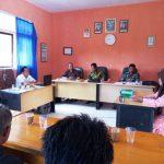 Rapat Evaluasi Penyelenggaraan Pemerintahan Desa Mekar Jaya Tahun 2018